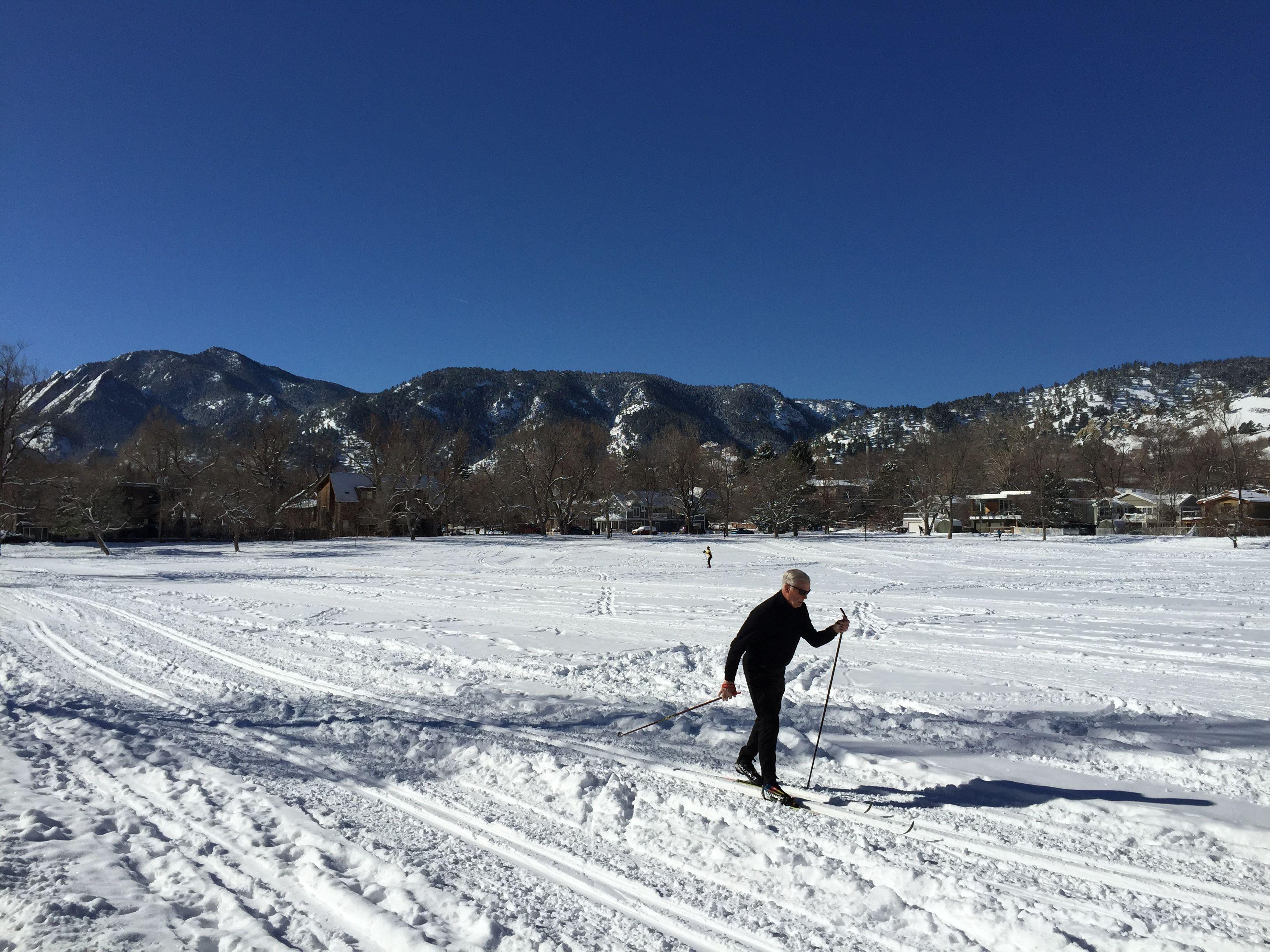 North Boulder Park Skiing