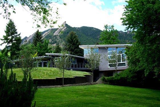 modern home in boulder colorado