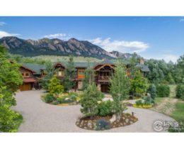Luxury Log Estate in Boulder Colorado